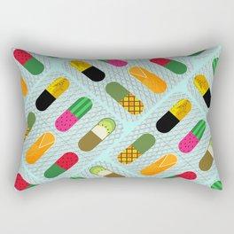 FruitPills Rectangular Pillow