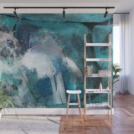 Ice water Wall Mural