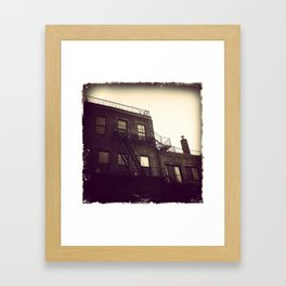 brooklyn built Framed Art Print