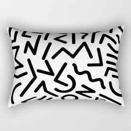 Zentangle Zen Zen Rectangular Pillow
