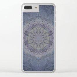 Silver Falls Mandala Clear iPhone Case