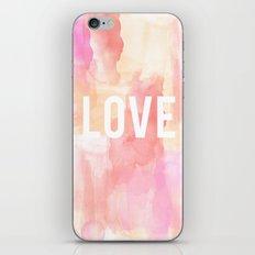 Brushed Love iPhone & iPod Skin