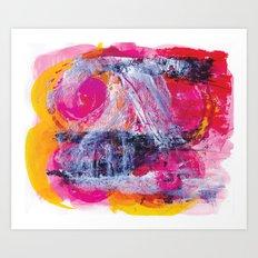 Urban Pink Art Print