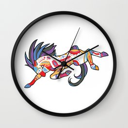 Native Spirit Wall Clock