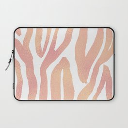 wild thing (pink and gold foil) Laptop Sleeve