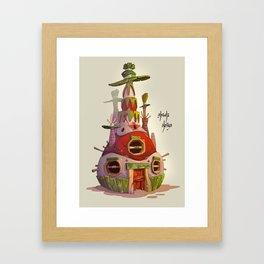Piñata House Framed Art Print