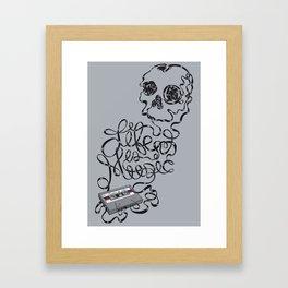 Music is Life Framed Art Print