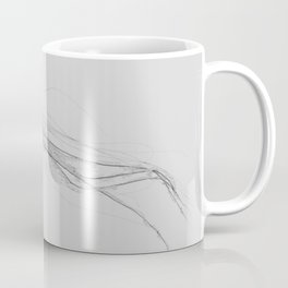 Black & White Jellyfish Coffee Mug