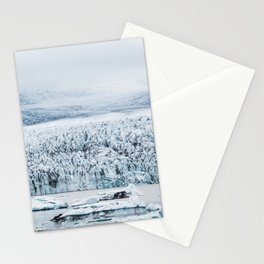Fjallsarlon Iceberg Lagoon Stationery Cards
