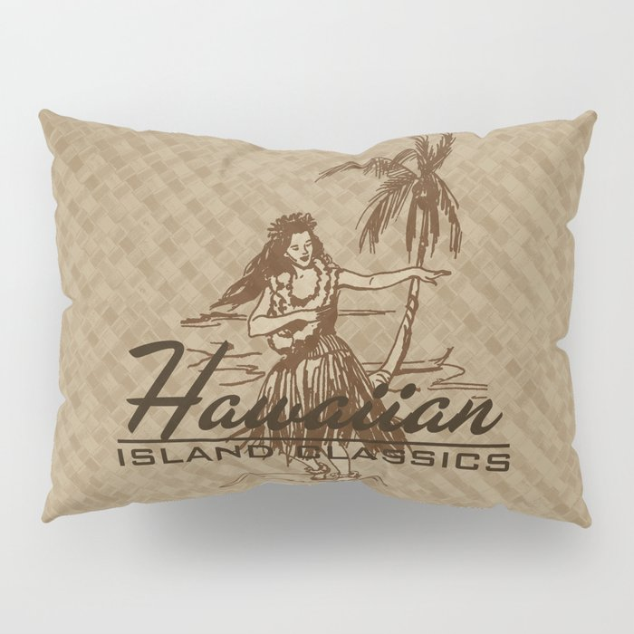 Tradewinds Hawaiian Island Hula Girl Pillow Sham