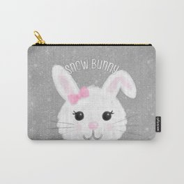 Snow Bunny Carry-All Pouch