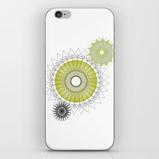 Modern Spiro Art #5 iPhone & iPod Skin