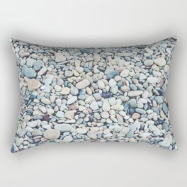 Beach Rocks Rectangular Pillow