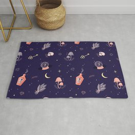 Witch pattern Rug