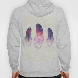 galactic feathers Hoody