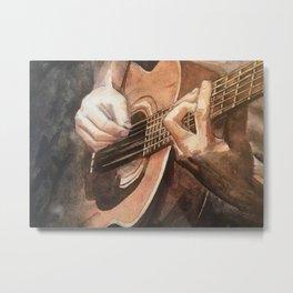 Acoustic Metal Print