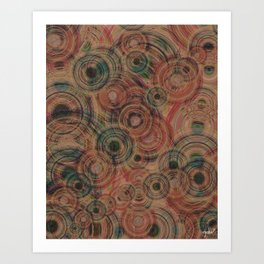 Circles Of Life Art Print