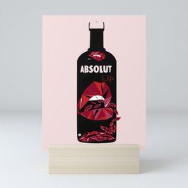 Absolut Lip Mini Art Print