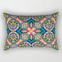 Native American Fashion Pattern Eleven Rectangular Pillow