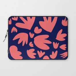 Living Coral Color of the Year Pattern Abstract Art Decorative Laptop Sleeve