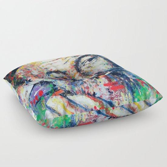Ernest Hemingway Floor Pillow