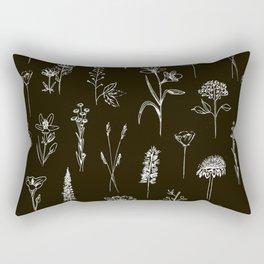 Patagonian wildflowers Rectangular Pillow