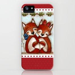 Fox Love iPhone Case