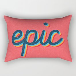 Epic - pink version Rectangular Pillow