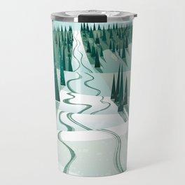 Winter Slope Travel Mug