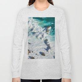 Wave Break - Ocean Shores Long Sleeve T-shirt