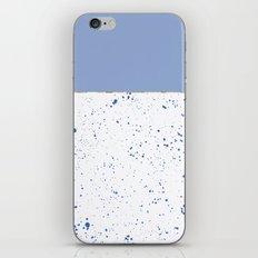 XVI - Blue 2 iPhone & iPod Skin