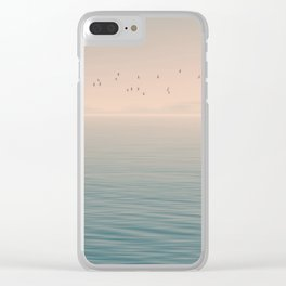 Fly by night Clear iPhone Case