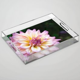 Spring Time Flower Acrylic Tray