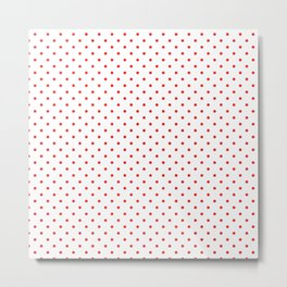 Red dots Metal Print