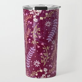 Wild-flowery Meadow Travel Mug