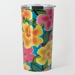 Hibiscus Travel Mug
