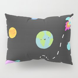 Colorful Planets Pillow Sham