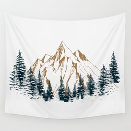 mountain # 4 Wall Tapestry