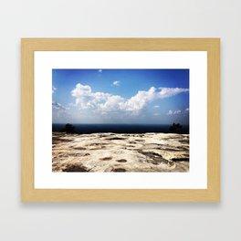 Stone Mountain Framed Art Print