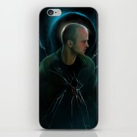 halo iPhone & iPod Skins featuring Halo by Varis