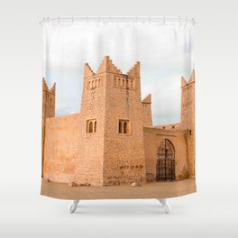 Kasbah I - Morocco Shower Curtain