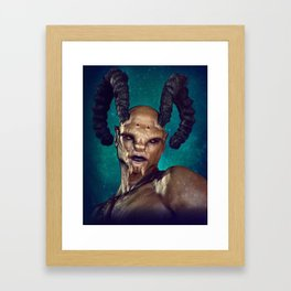 Male Demon Framed Art Print
