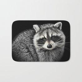 A Gentle Raccoon Bath Mat