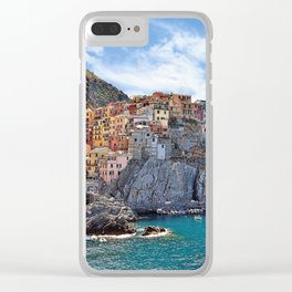 Colorful Italy Clear iPhone Case