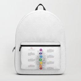 Seven Chakra Tree Art & Chart Backpack