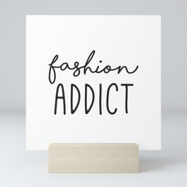 Teen Girls, Room Decor, Wall Art Prints, Fashion Addict, Affordable Prints, Fashion Quotes Mini Art Print
