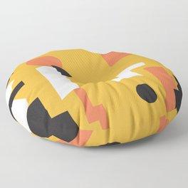 Techno Thunder Floor Pillow
