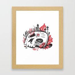 Skill and Mushroom Framed Art Print