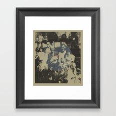 LIFE MONTAGE// Framed Art Print