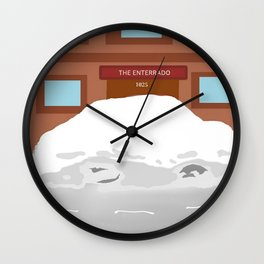SnowStorm16 Wall Clock